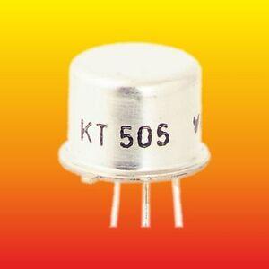 KT505 LOT OF 10 TESLA THYRISTORS 400 V 1 A