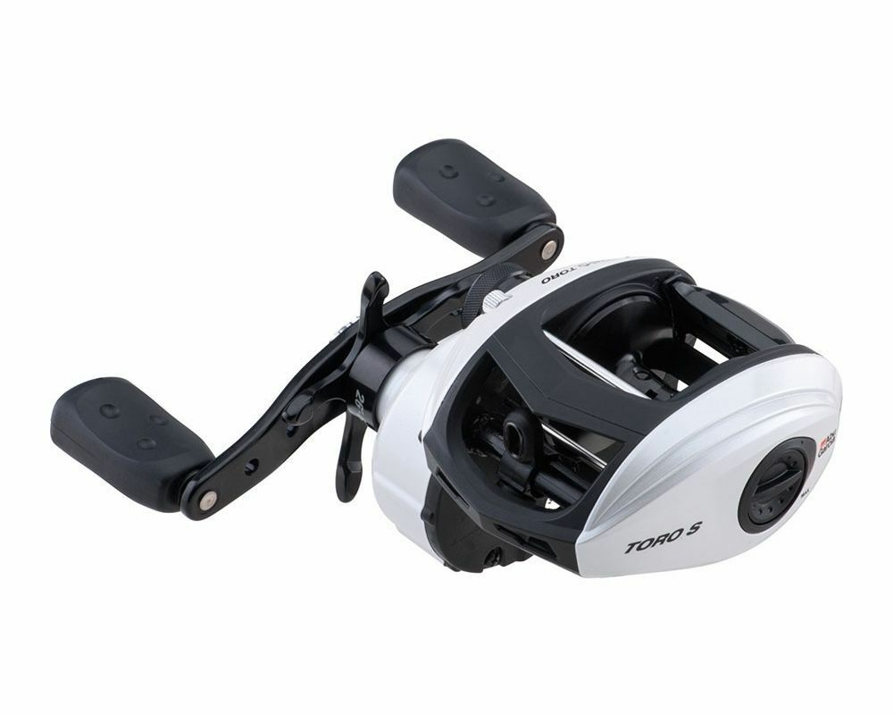 Abu Garcia Revo Toro T2 S50 Low Profile Baitcast pesca Reel gratuito USA Shipping