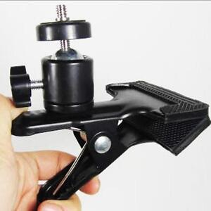 Hot Clip For Photo Studio Camera Flash Light Stand Spring Metal Flash Clamp Q