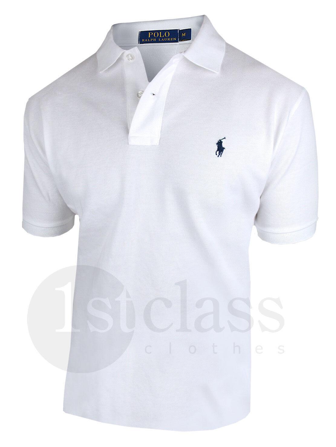 Polo RALPH LAUREN Poloshirt CLASSIC FIT Farbwahl 100% Baumwolle das Original