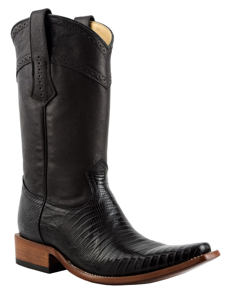 1B41LT Lizard Boots Teju Western Boots Lizard handmade Cuadra Boots e52977