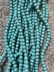 """Turquoise howlite 6mm Beads Turquoise on 16"""" strand Jewelry Making New"""