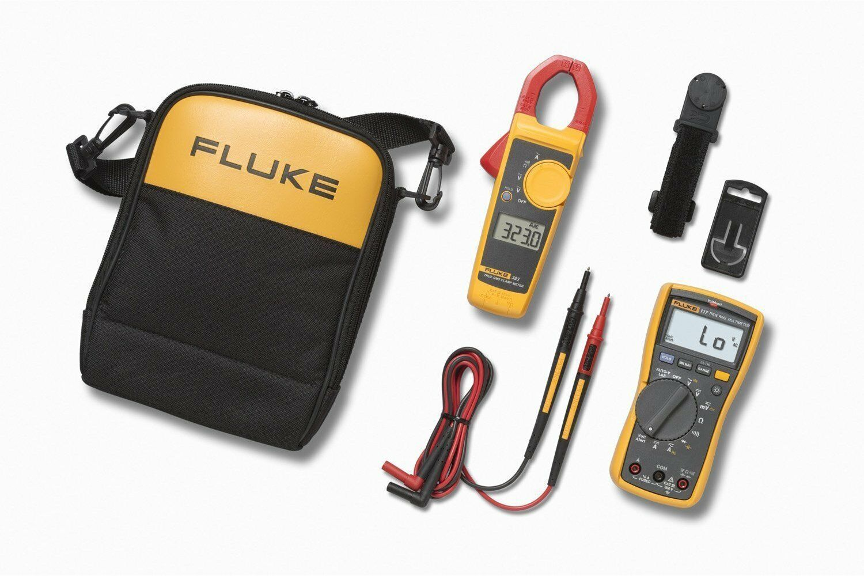 Fluke 117 323 Multimeter Combo Kit für Elektriker Nachfolger 117 322