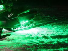 Snowmobile LED Running Board Light Kit - Green   (Must have Battery)