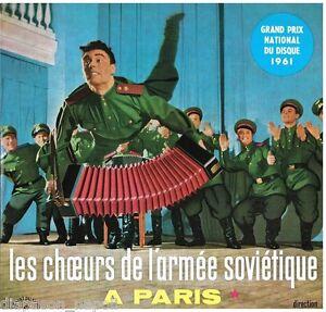 Les Choeurs De L'Armee Sovietique: A Paris - LP Vinyl 33 RPM