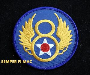 8TH-US-AIR-FORCE-PATCH-BADGE-ARMY-AIR-CORPS-Barksdale