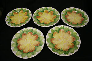 The-Cellar-Handpainted-and-Made-in-Italy-Floral-Plates-9-plates-5-large-4-small