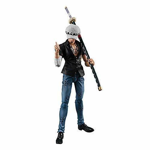 MegaHouse Variable Action Heroes One Piece Series Trafalgar Law Ver.2 Figure NEW
