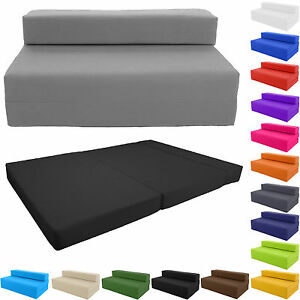 Fold Out Futon Double Guest Z Bed Chair Folding Mattress Sofa Bed Sofabed Gilda Ebay