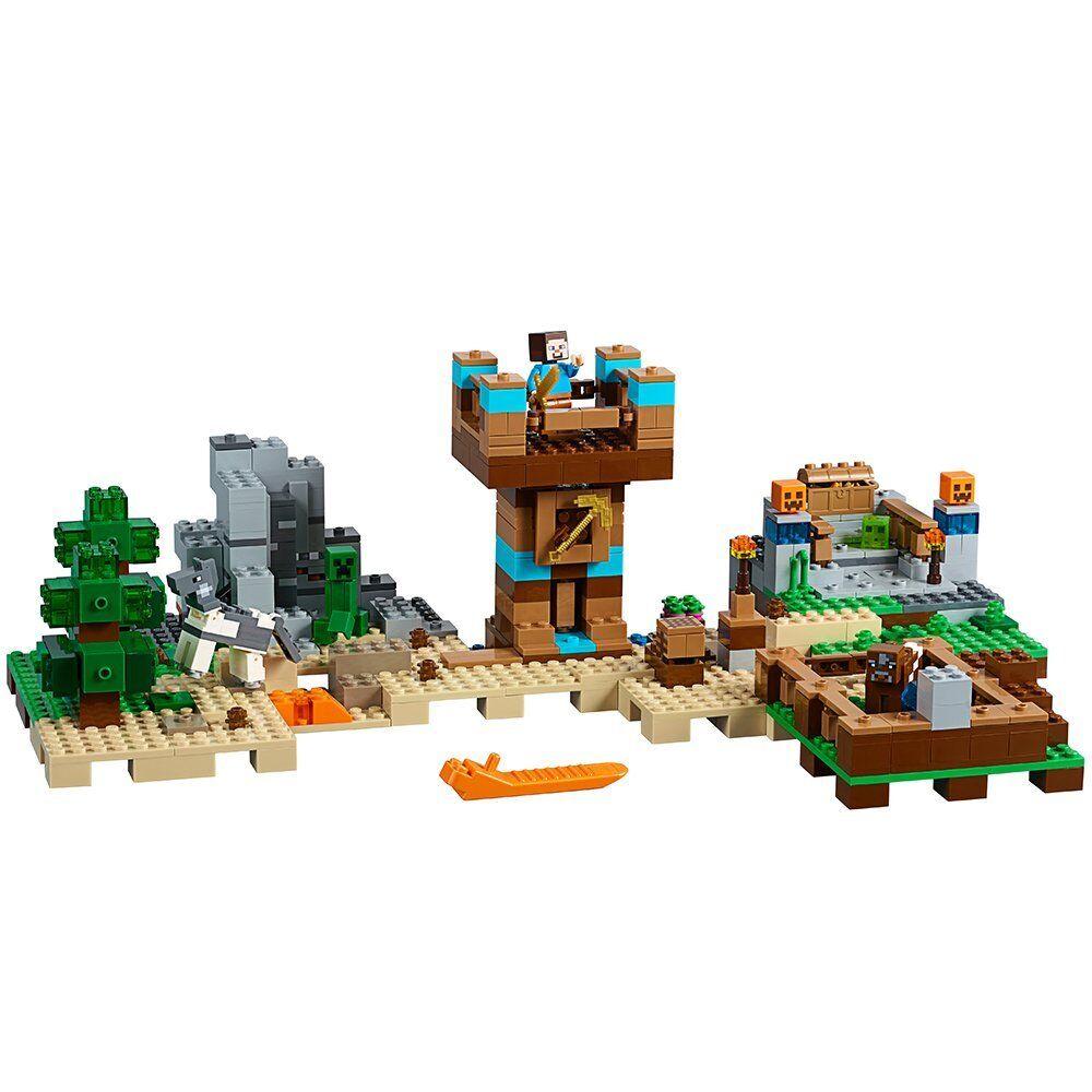 LEGO Minecraft the Crafting Box 2.0 21135 Building Kit Kit Kit (717 Piece) 2063b9
