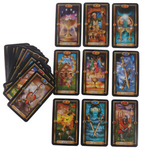 78pcs-Tarot-Deck-Cards-Guidance-of-Fate-Playing-Board-Game-Cards-SND