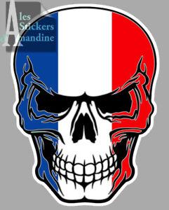 STICKER AUTOCOLLANT 13 skull TETE DE MORT MAQUETTES MINIATURES MODELISME