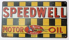 Speedwell Motor Oil garage metal sign (RP)