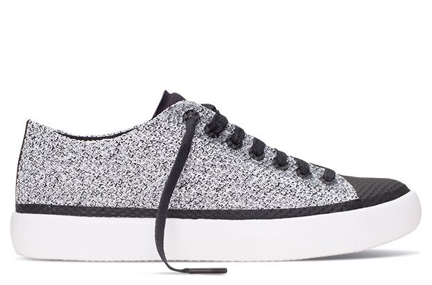 Converse Chuck Taylor All Star Modern Grey Black White Low Men Shoes 155029C