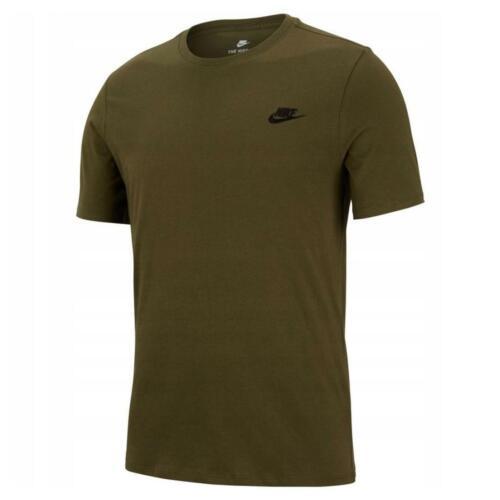 con da atletico T Futura Nike uomo in jersey allenamento shirt verde taglio in da cotone ww5Cq67