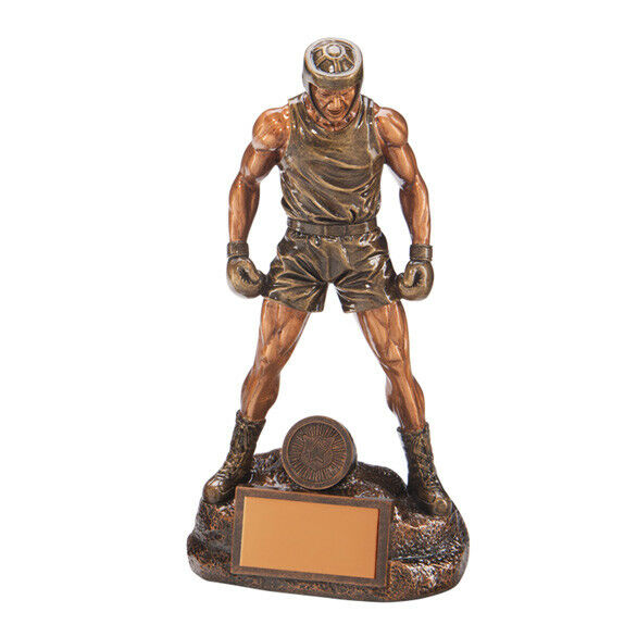 Ultimate Boxing Trophy Impressive Male Boxer Statue Award FREE Engraving RF17045