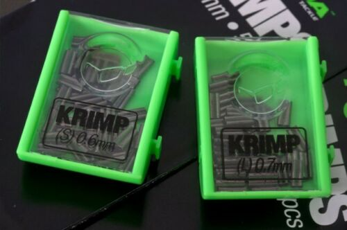 Korda Spare Krimps Available In 0.6mm /& 0.7mm