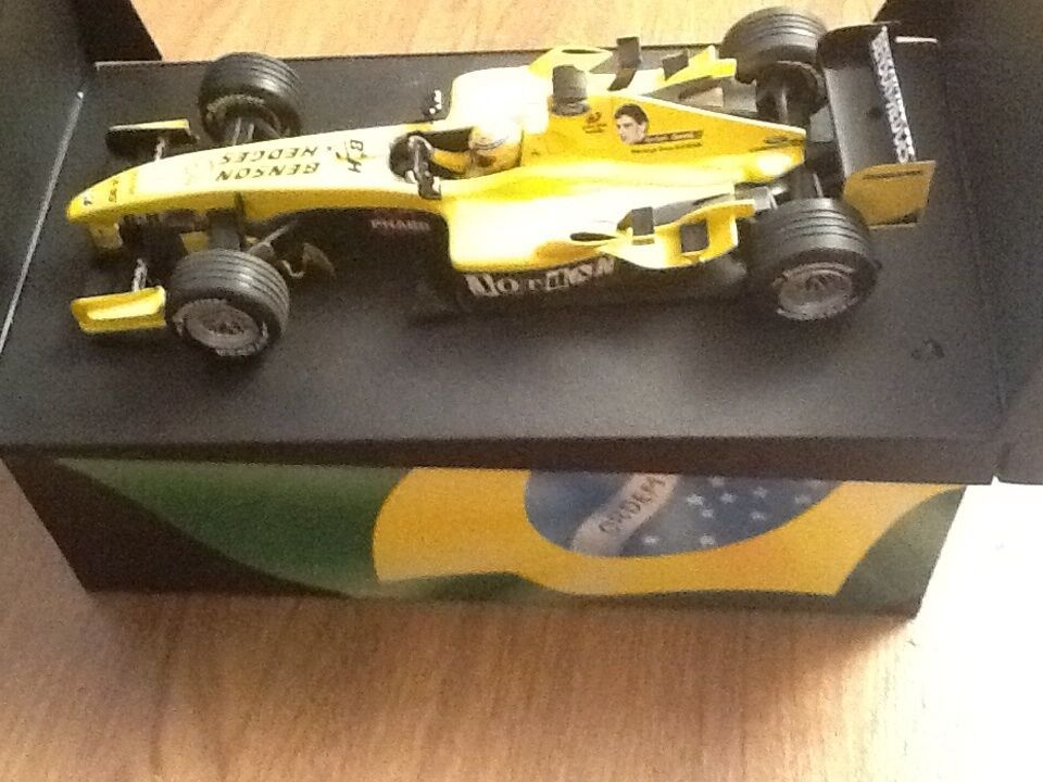 MINICHAMPS JORDAN EJ14 Benson and Hedges G PANTANO AYRTON SENNA TRIBUTE 2004