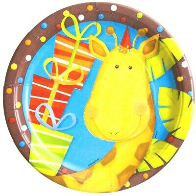 Kids JUNGLE FUN Birthday Party Game Loots Picks Invites Plates Cups **BARGAIN**