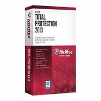 Mcafee Pc Attach Total Pro 1 Pc 2013 [cd-rom] Windows Xp / Windows 7 / Windows V