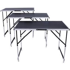 Tavolo di lavoro in alluminio per carta da parati campeggio pieghevole 300x60cm ebay - Tavolo da lavoro pieghevole ...