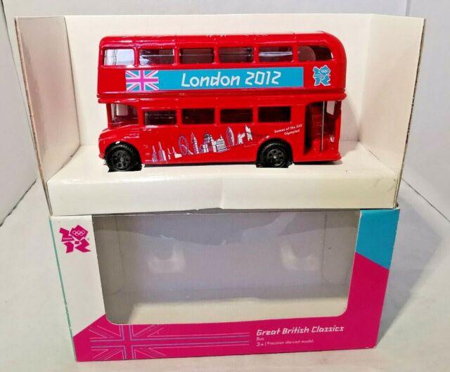 Part of the Great British Classics Corgi Olympic London Routemaster Bus Model