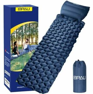 Sleeping-Inflatable-Air-Pad-Mat-Mattress-With-Pillow-Outdoor-Camping-Hiking-Bed