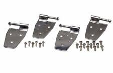 Door Hinge Set Stainless Steel 4 Piece Jeep Wrangler TJ 1997-2006 Kentrol 30525