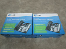 2 New Atampt 1040 4 Line Small Business System Compatible With10701080 Telephones