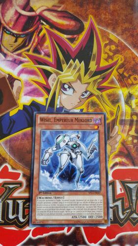 Carte Yu-Gi-Oh! Wisel, Empereur Meklord SP13-FR047 Commune Française