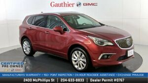 2017 Buick Envision Premium I AWD, 2.0L Turbo, Power Moonroof, Navigation, Heated Leather Seats, Nice!!
