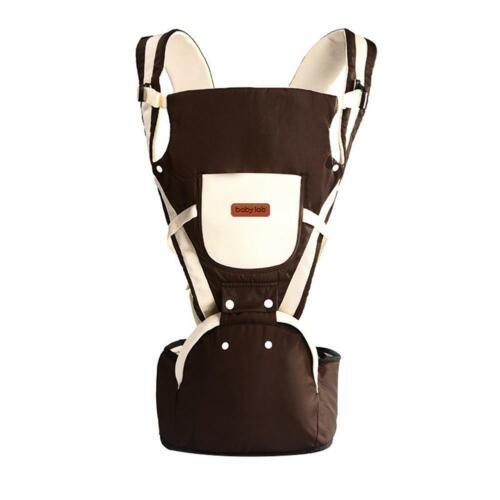 Adjustable Ergonomic Infants Baby Carrier With Hip Seat Wrap Sling Backpack UK