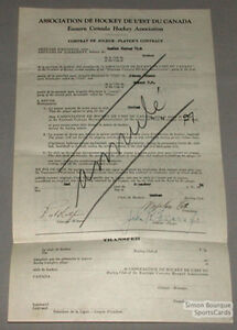 Orig-1930-31-E-C-H-A-Johnny-Friars-Signed-Contract
