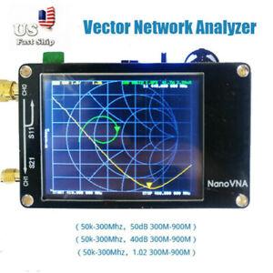 Vector-Network-Analyzer-2-8-034-LCD-50KHz-900MHz-For-NanoVNA-HF-VHF-UHF-Antenna-USA