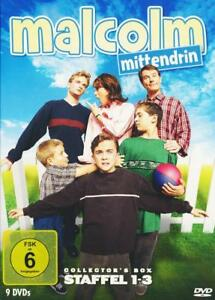 Malcolm-Mittendrin-Collector-039-s-Box-Staffel-1-3-9-DVDs-2014