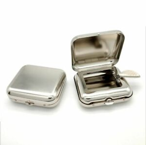 Stainless-Steel-Square-Ashtray-Metal-Ash-Tray-Pocket-Ashtrays-With-Lids-Portable
