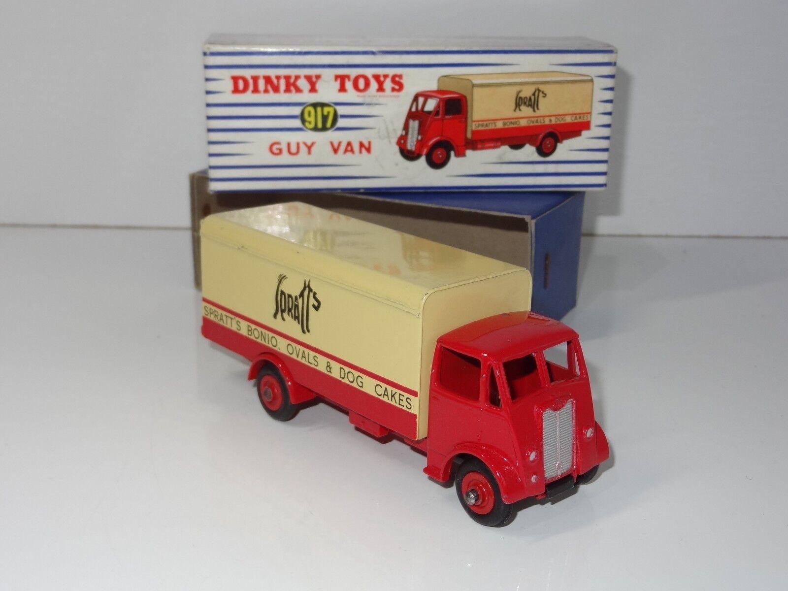(V) dinky GUY SPRATTS VAN - 917   514