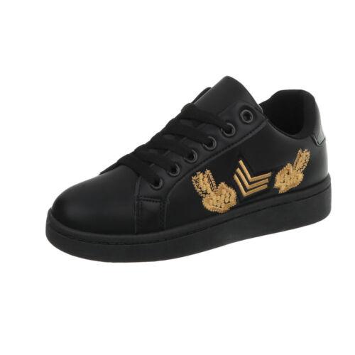 Sneakers Sportschuhe Freizeitschuhe Sneakers Low Damenschuhe 3123 Ital-design