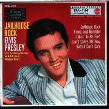 "7"" EP Elvis Presley Jailhouse Rock RCA EPA-4114 (Deutsche Pressung)"