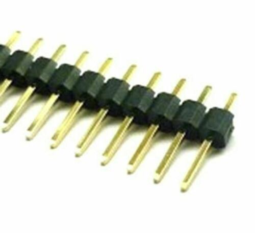 36 Way Single Row PCB Header Plug 2.54mm Pack 10