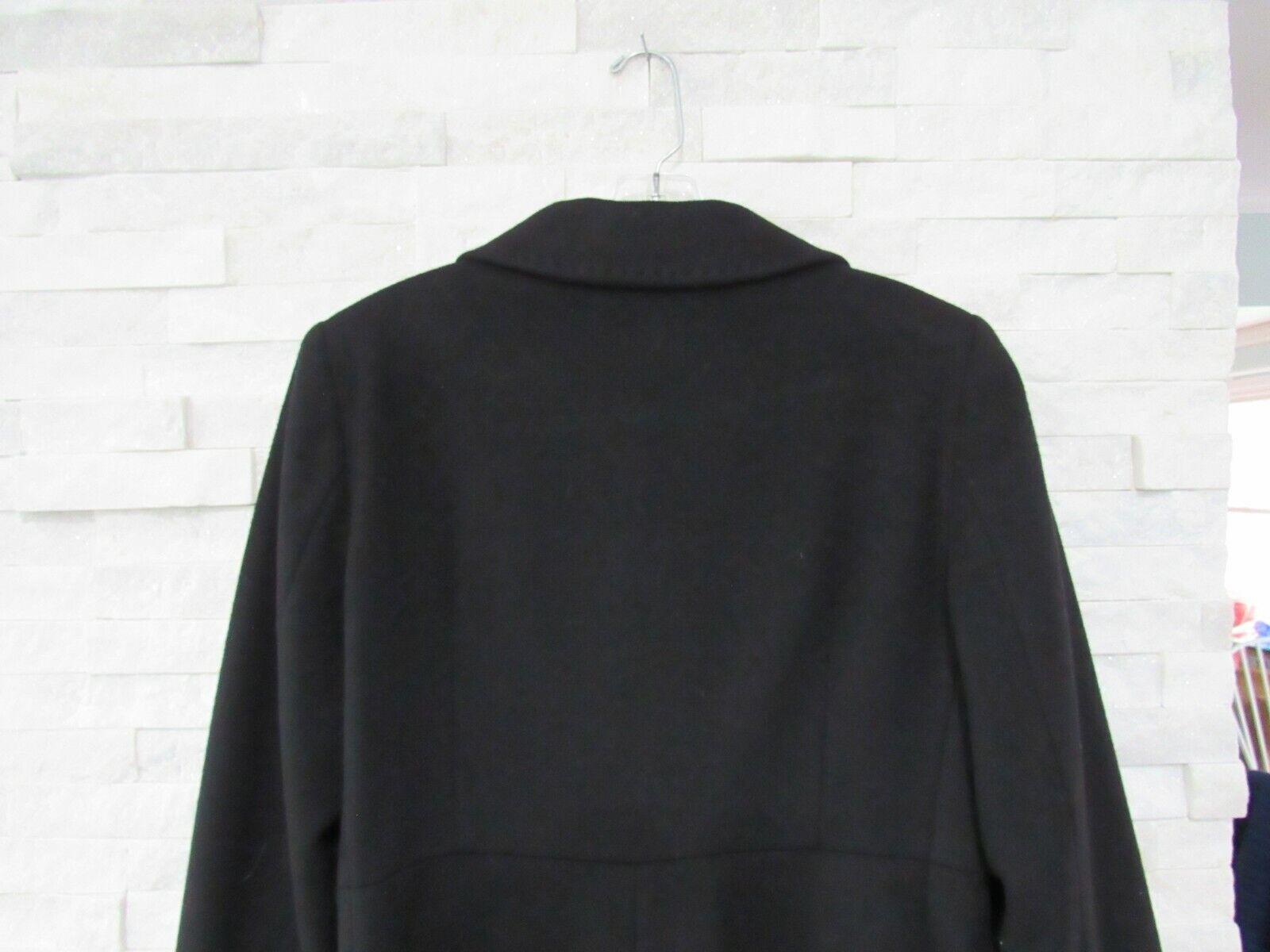 Cinzia Rocca Black Wool Cashmere Princess Seams L… - image 10