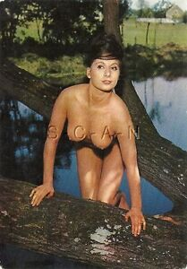 Image Is Loading Original 1960s French Nude Pinup Pc Well Endowed