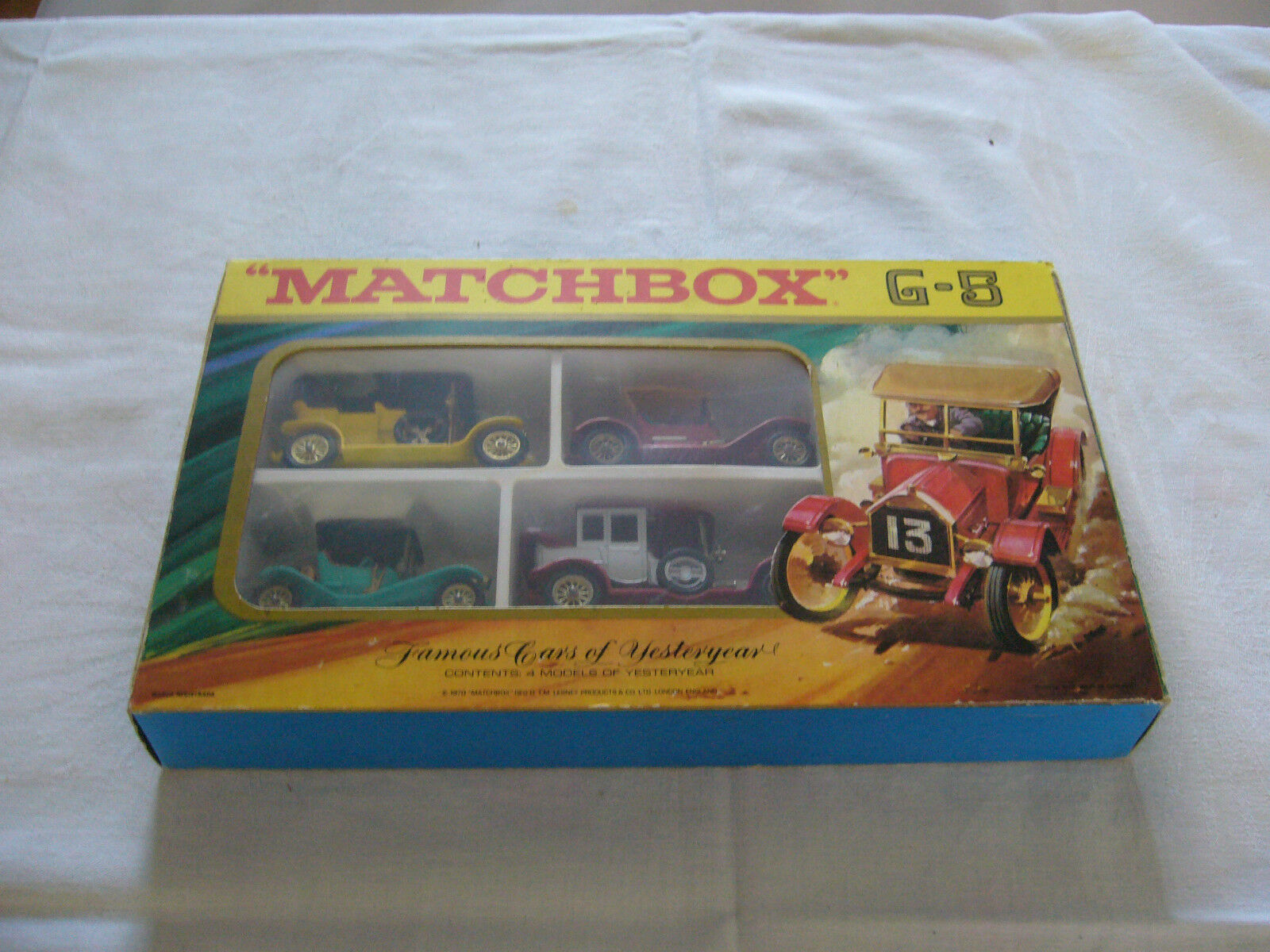 MATCHBOX-MODELS OF YESTERYEAR CONFEZIONE REGALO g-5 1970