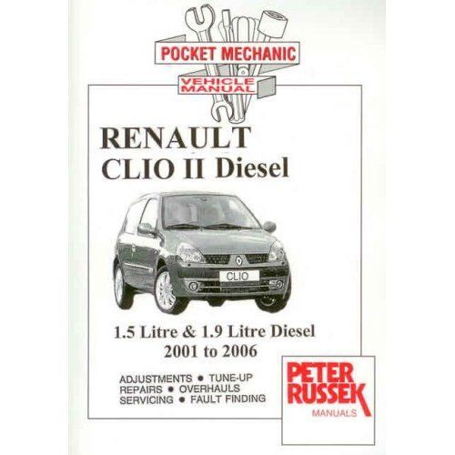 Renault Clio II 1.5 DCi 1.9 DTi diesel 2001-2006