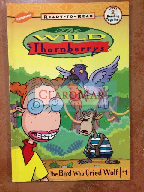 ☀️NEW The Bird Who Cried Wolf Kitty Richards WILD THORNBERRYS Eliza Kids Book
