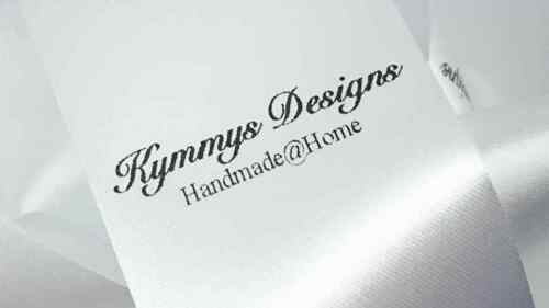 200 Labels Personalised Sew In Clothing Garment Label Craft Handmade Bespoke