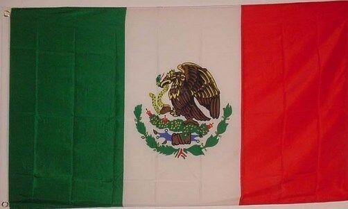 Usa Mexico Friendship 3x5 Polyester Flag Eagle