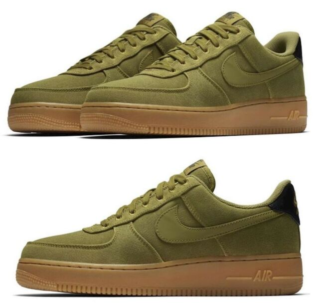 Nike Gum Air 1 Green Low Mens Shoes New Force Lv8 Txt All Sizes xWCBQoErde