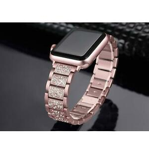 For-Apple-Watch-Series-5-4-3-40-44MM-Stainless-Steel-Bracelet-iWatch-Band-Strap