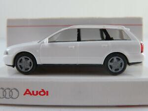 Rietze/Audi Audi A4 Avant 1.9 TDI (1996-1999) in weiß 1:87/H0 NEU/OVP